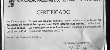 Obrigado Universidade Lusófona (Porto) / ANTF.